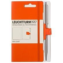 LEUCHTTURM1917 342938 Self-Adhesive Pen Loop - Orange by Leuchtturm1919