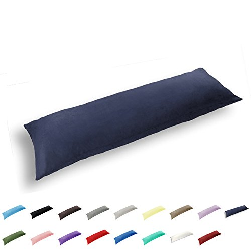 TAOSON 100% Cotton 300 Thread Count Body Pillow Cover Pillow