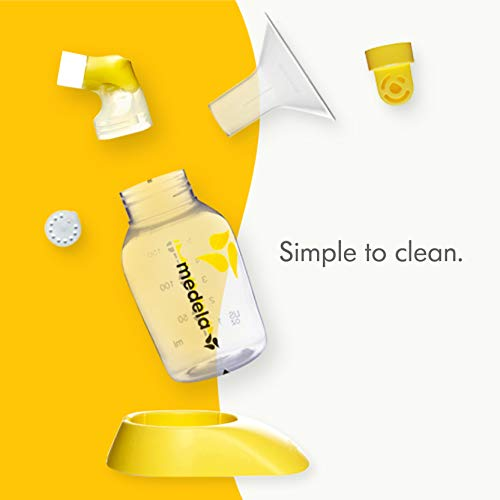 Medela, Swing, Single Electric Breast Pump, Compact and Lightweight Motor, 2-Phase Expression Technology, Convenient AC Adaptor or Battery Power, Single Pumping Kit, Easy to Use Vacuum Control by Medela (Image #1)