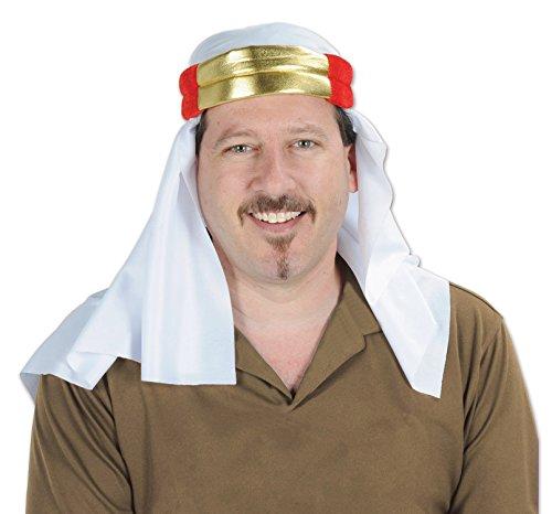 Beistle 60330, 1 Piece Satin Sheik Hat