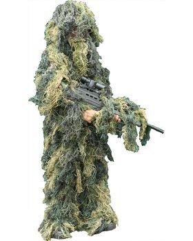 Nitehawk Kids//Childrens Woodland Camo//Camouflage Hunting 3D Ghillie Burlap Suit