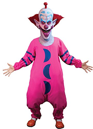 Space Outfits Outer (UHC Men's Killer Klowns From Outer Space Slim Outfit Halloween Adult Costume,)