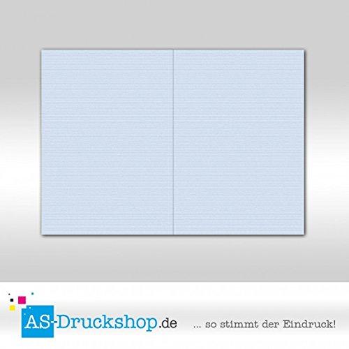 Faltkarte Faltkarte Faltkarte Doppelkarte - Pastellblau 100 Stück DIN A5 B079529RDN | Bekannt für seine hervorragende Qualität  8db9cc