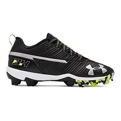 Under Armour Boys' UA Harper 3 Low RM Jr. Baseball Cleats 5.5 Black