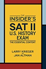 The Insider's SAT II US History Exam Paperback