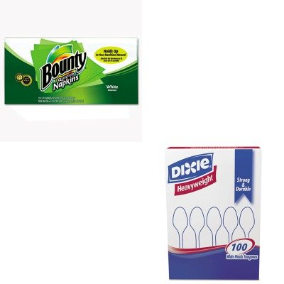 KITDXETH207PAG34884 - Value Kit - Procter amp; Gamble Professional Quilted Napkins (PAG34884) and Dixie Plastic Cutlery (DXETH207)