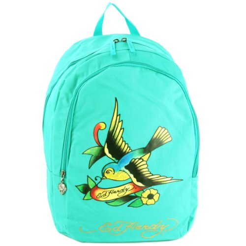60acf3687cbc Ed Hardy Josh Spring Sparrow Backpack - Turquoise - Import It All