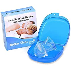 Silent Sleep Silicone Tongue and Groove Stop - Teeth Mouth Guard