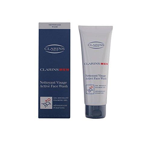 Clarins Men Active Face Wash, 4.4 Ounce (Face Men Active Wash)