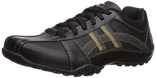 Skechers Men's Citywalk Malton Oxford Sneaker,Black,13 M US (Skechers Oxford Mens Shoes)