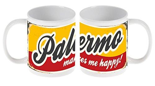 Taza Viaje Cocina Palermo Italia Ceramica impreso
