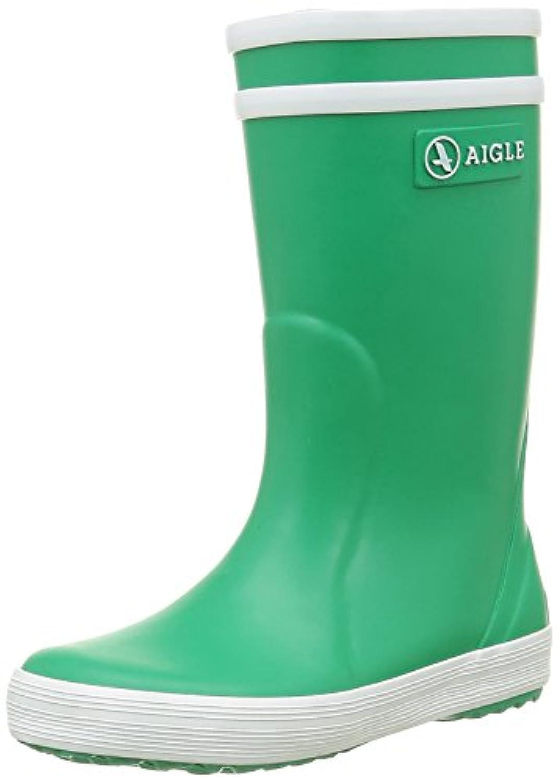Aigle Unisex Kids' Lolly Pop Rain Boots - Silver, 3 Child UK