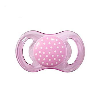 Amazon.com : HAPPY MINI SILICONE PINK DOTS : Baby