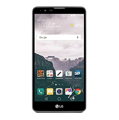LG Stylo 2 Prepaid Carrier Locked - Retail Packaging (Boost) (Lg Boost Mobile Cell Phones)