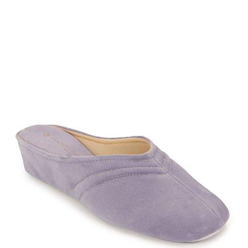 9603 Women's Suede in Purple Levine Slipper Jacques gqnvT8fq