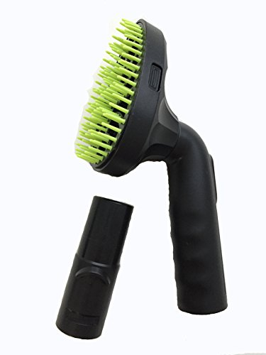 Green Label Pet Hair Vacuum Attachment/Grooming Brush Tool Compatible with Dyson Vacuum Cleaners