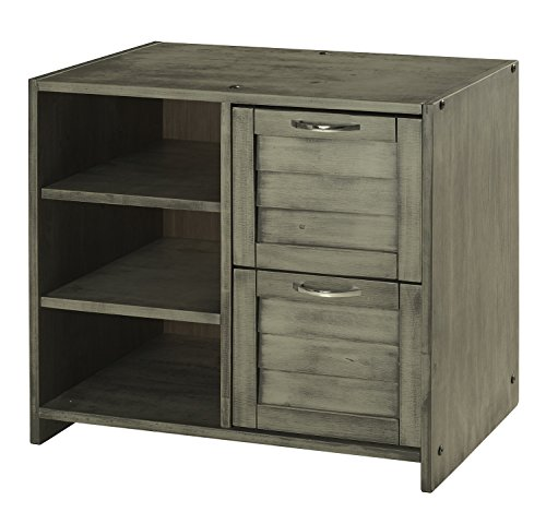DONCO KIDS 790BAG Louver 2 Drawer Chest/Shelves, Antique ()