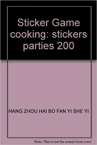 Download PDF Free Sticker Game cooking: stickers parties 200