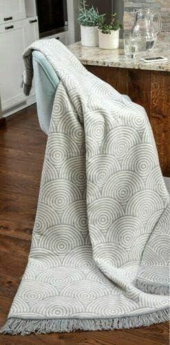 Merino Wool Bedding Super suave manta de algodón grande cubre hasta o cama de matrimonio. Algodón suave grande sofá ...