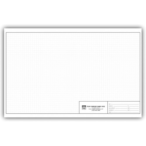 Graph Engineering Pads - 11 X 17-1/4 Inch