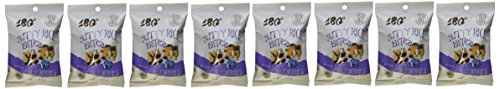 180 Snacks Nutty Rice Bites with Blueberries - Gluten Free,1.25 OZ(pack of 8)