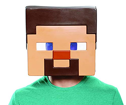 Disguise Men's Steve Adult Mask, Brown One Size]()