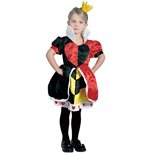 Disney Alice in Wonderland Costume - Queen of Hearts Costume - Toddler Size