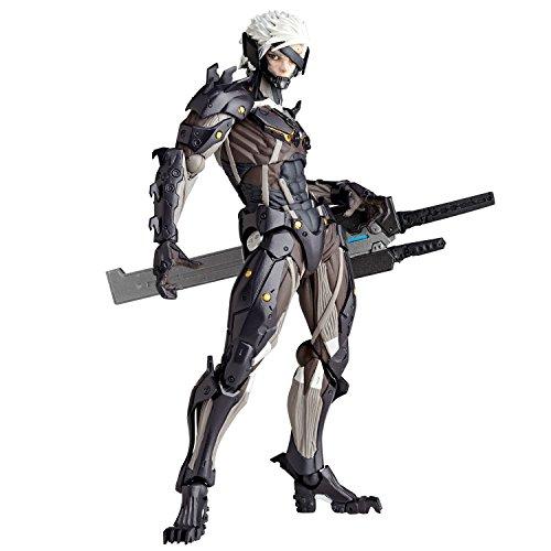 Revengence Raiden Metal Gear Rising Kaiyodo Revoltech Yamaguchi #140 Action Figure