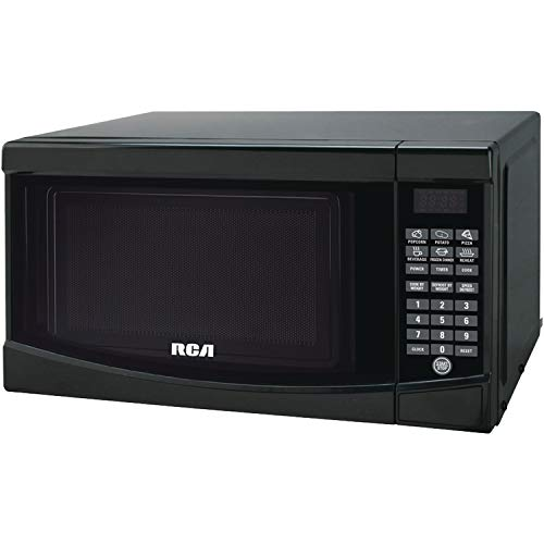 RCA 0.7 Cu. Ft. Microwave Oven (Black) (Rca 0-7 Cu Ft Microwave Stainless Steel)