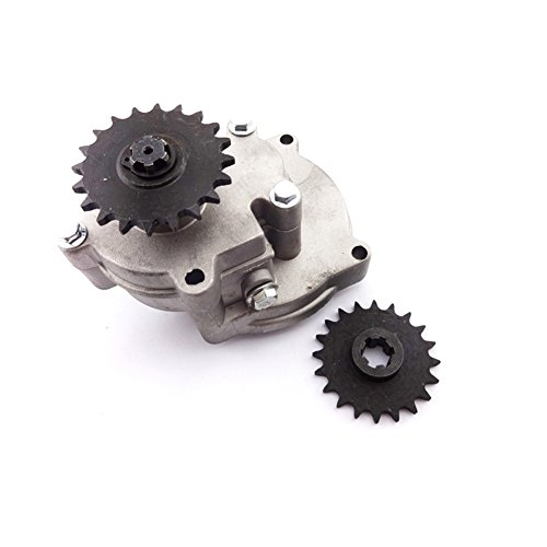 Race-Guy T8F 20 Tooth Sprocket Gear Box For 2 Stroke 33cc 43cc 49cc Engine  Parts Ty Rod II Go Kart Mini Bike Go Ped Scooter Xtreme