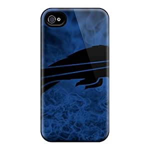 High Quality Shock Absorbing Case For Iphone 4/4s-buffalo Bills