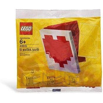 Amazon.com: LEGO Valentines Day Heart Box 40051: Toys & Games