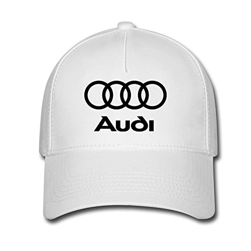 25fe1ea59dec2 DEBBIE Unisex Audi Logo Baseball Caps Hat One Size