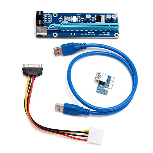 South-Dragon - 1 Set USB 3.0 PCI-E Express 1x to 16x Extender Riser Board Card Adapter w/SATA Cable Suit for Any Graphics Cards NEW C26 from South-Dragon