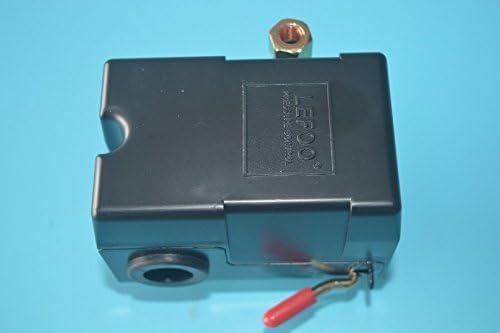 Nuevo Compresor de aire control de interruptor de presión 95-125 PSI con descargador LF10-1H NPT1//4