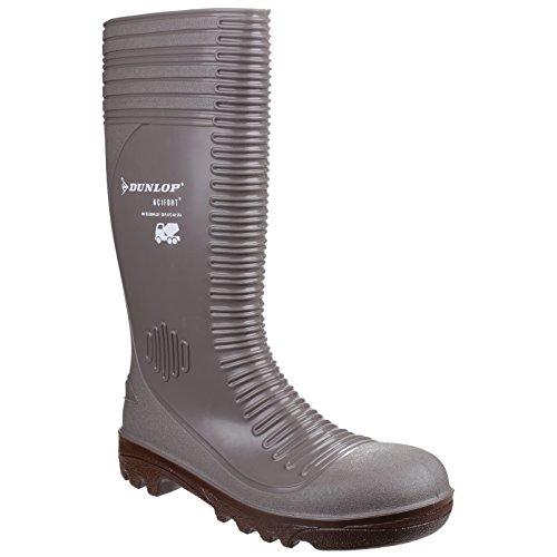 Dunlop - Calzado de protección para hombre Grey/Brown