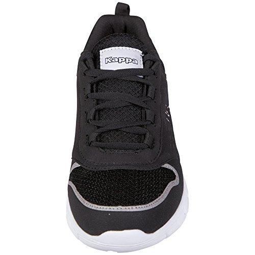 Nero Ginnastica Scarpe Kappa Amora Adulto Unisex; Black da 1110 Unisex da Calzature White wqwOXRz