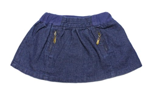 egg by suzan lazar Baby-girls Infant Denim Skirt,Blue,3-6 Months