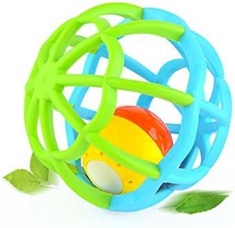 KeavyLee - Pelotas de plástico para bebé, diseño de Cascabel ...