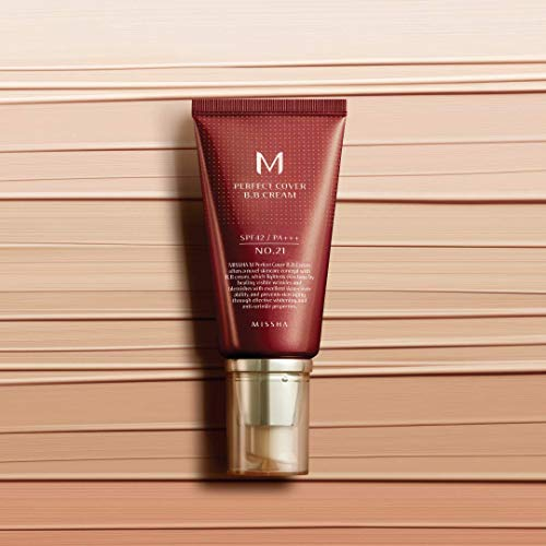Missha M Perfect Cover Bb Cream Spf42 No.21/light beige, 20 ml