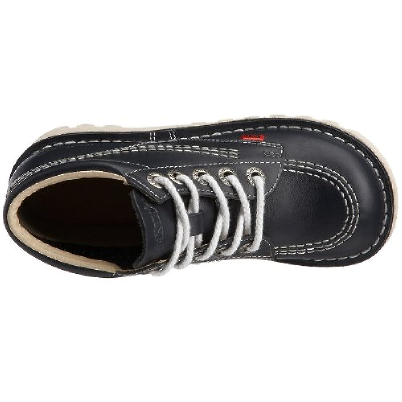 Kickers Unisex Kids' Kick Hi Junior Boots - Blue, 1 UK (33 EU)