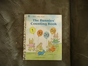 the bunnies counting book golden by elizabeth b rodger