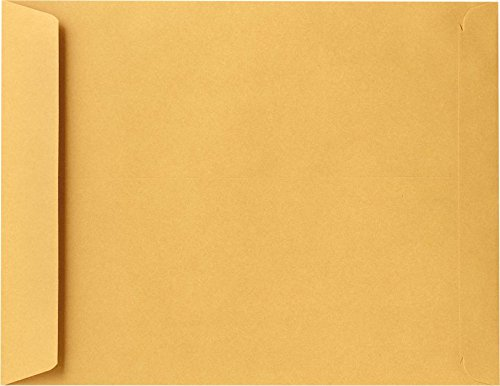 11 1/2 x 14 1/2 Open End Envelopes - 28lb. Brown Kraft (50 Qty.) Envelopes Store