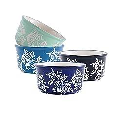 Set of 4 Porcelain Ramekins, Wisenvoy Ha...