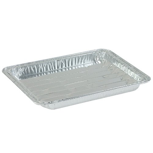 Nicole Home Collection 00621 Aluminum Broiler Pan, Large (Pack of 200) by Nicole Home Collection