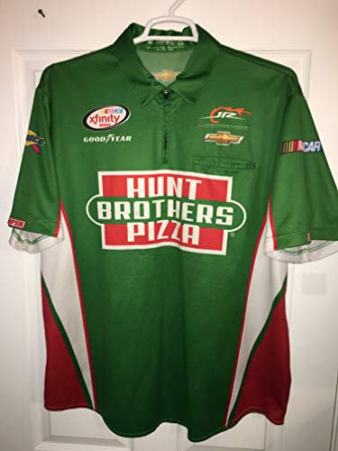 XL Kevin Harvick PIT CREW SHIRT JRM Dale Earnhardt Jr Motorsports NASCAR Xfinity Series Racing Hunt Brothers Pizza 1/4 ZIP