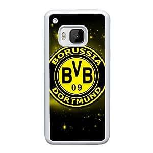 HTC One M9 Cell Phone Case White Borussia Dortmund BVB Bundesliga Football Club BVB Logo F5129280