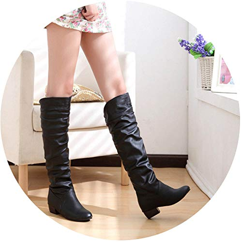 Witch-House Ankle Boots lace Women Heels Women's Winter Knee
