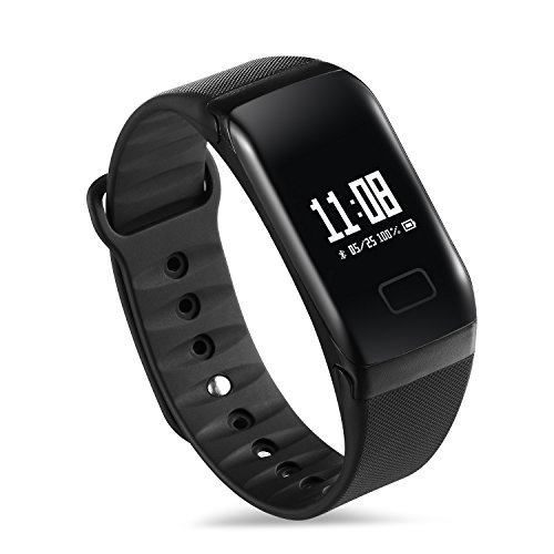 Sport fitness tracker watch, Smart BP HR bracelet, sleep quality monitoring, suitable for iPhone & Android phones