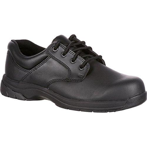 Rocky Duty Men's Slip Stop Dress Oxford,Black,10 M ()